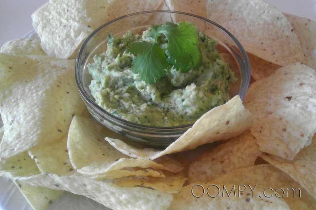 Cilantro-Lime White Bean Dip