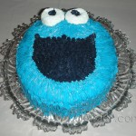2. Cookie Monster Cake