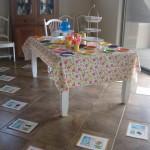 Polka Dot Table decoration
