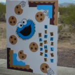 1. Giant Cookie Monster b-day card