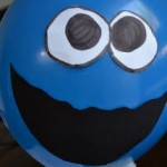 9. Cookie Monster balloon