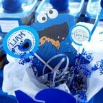 8. Cookie Monster centerpiece