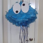 6. DIY Cookie Monster pinata