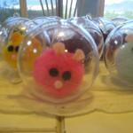 Pom pom Zhu Zhu Pet balls